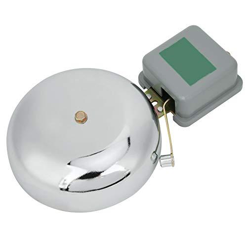 Oumefar Externer Schlag Externer Schlag Elektrische Glocke Funkenfreie elektrische Glocke Funkenfreie Glocke für Studenten