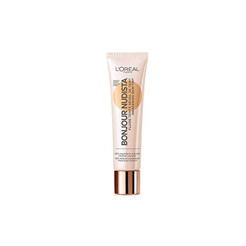 L'Oréal Paris Bonjour Nudista Awakening Skin Tint BB Cream in Dark, verleiht dem Teint ein natürlich strahlendes Finish, feuchtigkeitsspendend