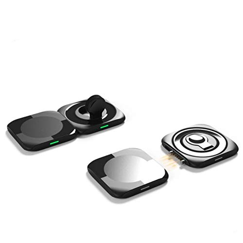 3 in 1 Duo Magnetic Wireless Charger15W, for Iphone12 Series, for Airpods IWatch