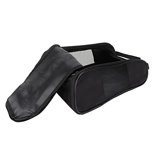 FOLOSAFENAR Portador con Cremallera Bolsas para Zapatos, Bolsa para Zapatos Capacidad 10L Líneas Suaves Malla Transpirable con asa para Almacenamiento de Zapatos