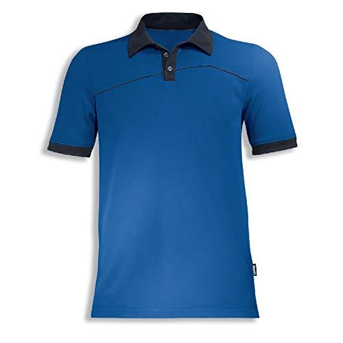 Uvex Perfexxion Herren-Arbeitsshirt - Blaues Männer-Poloshirt - Moderner Schnitt S