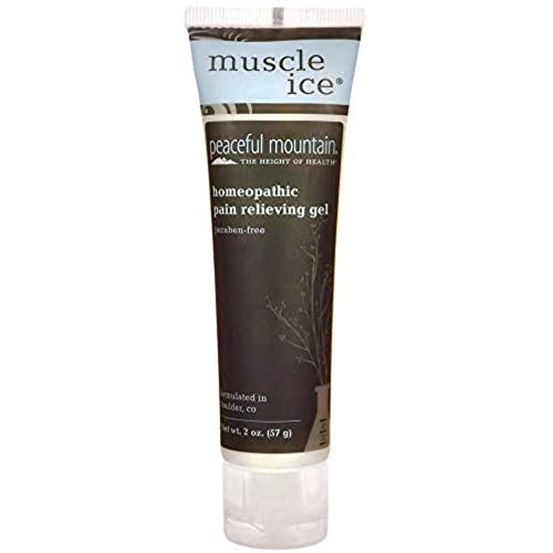 Peaceful Mountain Menthol Gel Muscle Ice, 2 Ounce