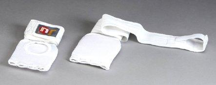 Ju-Sports Innen-Boxhandschuhe mit Bandage Senior weiß