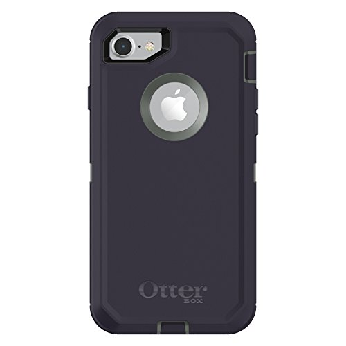 OtterBox DEFENDER SERIES Case for iPhone 8 & iPhone 7 (NOT Plus) - Retail Packaging - STORMY PEAKS (AGAVE GREEN/MARITIME BLUE)