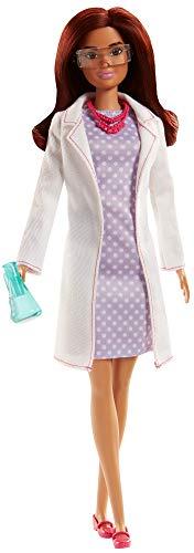 Barbie Quiero Ser científica, muñeca con accesorios (
