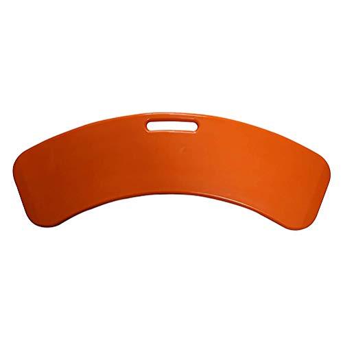 Joyfitness Tabla De Transferencia Curva para Usuarios De Sillas De Ruedas, Tabla Deslizante De Plástico Reforzado, Tablas Deslizantes para Trabajo Pesado Móvil De Corta Distancia para Transferencias
