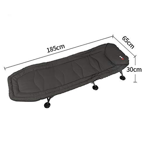 YWZDY Liegen Klappbare Einzel Sofabett Stuhl Modern Stoff Klappstuhl, Metallrahmen Klappstuhl, multifunktional Liege...