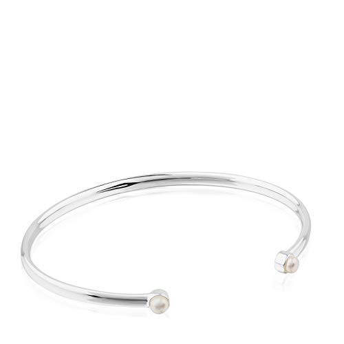TOUS Armband aus Sterlingsilber mit Perlen