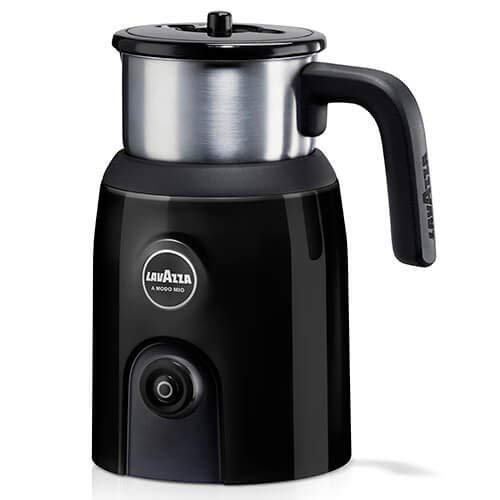 Lavazza A Modo Mio Milk Up Frother, Stainless Steel Container, Black