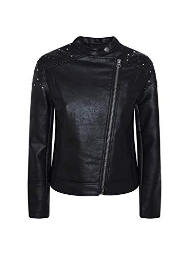 Pepe Jeans Star Chaqueta, (Black 999), Small para Mujer (Ropa)