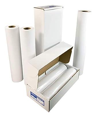 "Alliance CAD Paper Rolls, 36"" x 150"", 92 Bright, Ink Jet Bond"