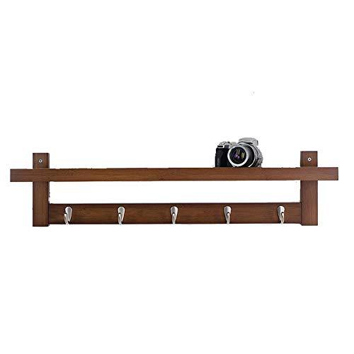 XLVJPF-48 Schermplanken, Drijvende Planken Moderne Wandplanken, Drijvende Opslagruimte Met Hoogglans Afwerking, Huishoudelijke Wandplank, Massief Hout Wandlaken Rack, Wandmontage Hanger