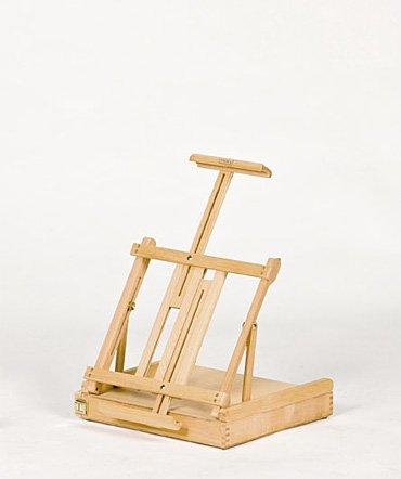 Lefranc & Bourgeois - Caballete estudio atril con cajones Boticelli, 87 cm alto x 42 cm largo x 37 cm profundidad