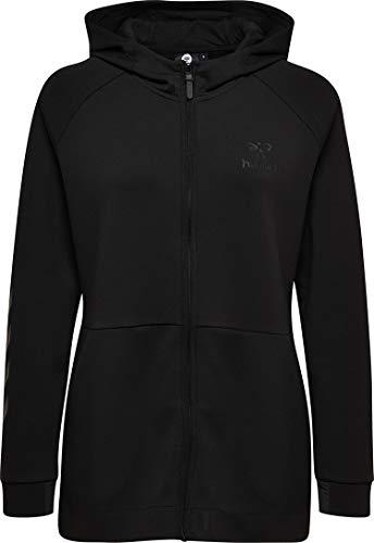 Hummel Damen Sweatjacke Clio Zip Hood 200171 Black L