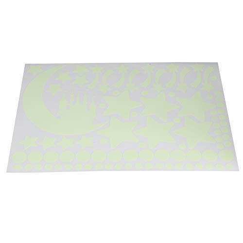 Shanrya Material de PVC, Pegatinas de Pared Brillantes y Transparentes, Pegatinas de...