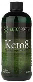 Keto8 Caprylic Acid C8 Enriched Mct Oil, Great For Energy And Ketone Boost 12 Fl Oz