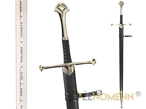 FEENOMENN Lord of The Rings - Anduril Cosplay (mit Scheide) - Zubehör Goodies Dekoration Collection …
