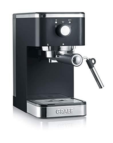 Graef ES402EU Salita Siebträger-Espressomaschine, 1400, schwarz