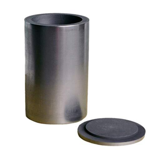 Fly-Fiber Crisol de Grafito Puro con Suministro de Laboratorio de joyería de Tapa para refinación de fundición de fundición de Metal de Oro y plata-20 ML