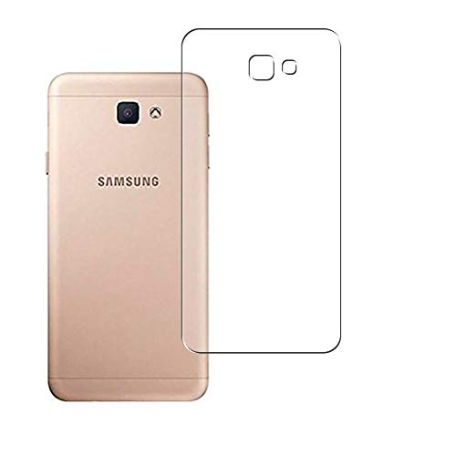 Vaxson 2 Unidades Protector de pantalla Posterior, compatible con Samsung GALAXY J7 PRIME 2018 [No Vidrio Templado] TPU Película Protectora Espalda Skin Cover