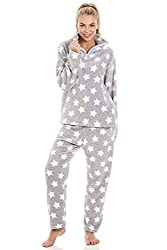 Various Style, Print and Colour Camille Luxury Soft Fleece Pyjama Sets Made Exclusively For Camille, Our Stunning Super Soft Fleece Pyjamas Are Not Available Anywhere Else Funnel Zip Up Neck Makes the Jumper Easy to Put on and Take Off Elasticated Cu...