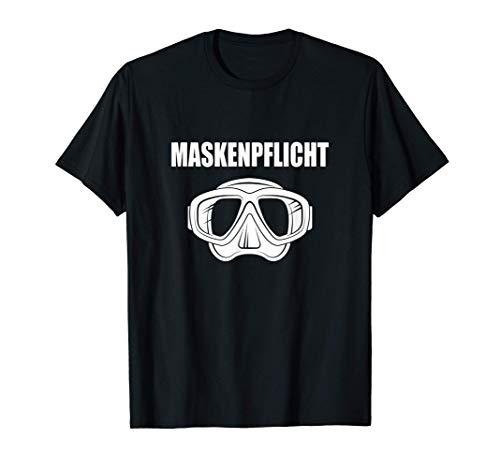 Tauchen Maskenpflicht lustige Taucher...