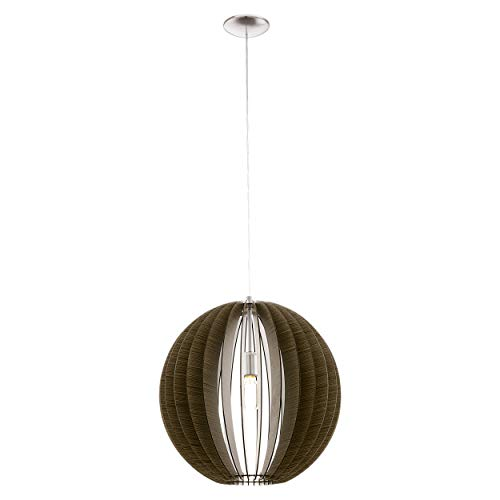 Preisvergleich Produktbild EGLO COSSANO Hängeleuchte,  Stahl,  60 W,  Ø 50 cm,  nickel-matt