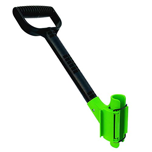 The Rah Handle! A Universal Ergonomic Back Saving Lefty Or Righty, Secondary Handle For Snow Shovels, Rakes, and Other Gardening Or Construction Tools.