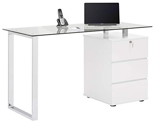 MAJA Möbel Schreib- und Computertisch, Metall, One Size