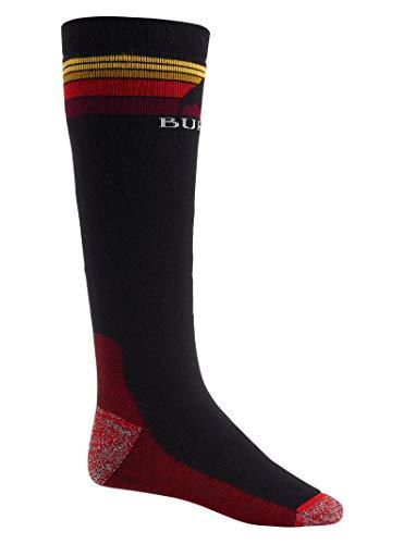Burton Mens Emblem Midweight Sock, True Black New, Small