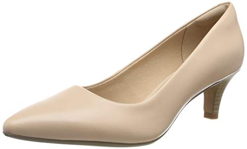 Clarks Linvale Jerica, Damen Pumps, Pink (Blush Leather), 41 EU (7 UK)