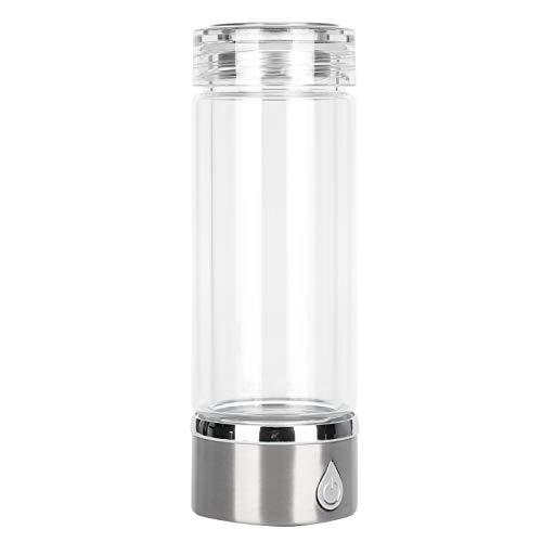Botella de agua de hidrógeno, máquina de agua de hidrógeno inteligente portátil profesional, ionizador de agua de hidrógeno, botella de agua de hidrógeno USB, regalo para mujeres y hombres