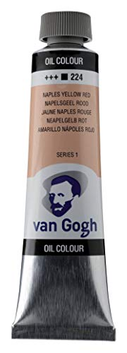 Van Gogh Oil Color Paint, 40ml Tube, Naples Yellow Red 224