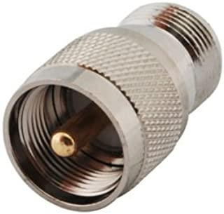 DHT Electronics RF connector adapter N type female to PL259 / SO239 male