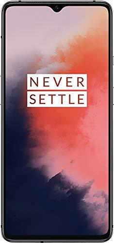 OnePlus 7T - Smartphone Débloqué 4G (Ecran 6,55 pouces - 8Go RAM - 128Go Stockage - Ecran Amoled 90 Hz) Frosted Silver