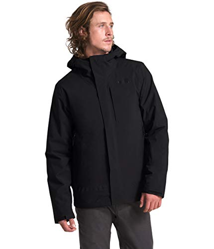 The North Face Men's Carto Triclimate Jacket, TNF Black/TNF Black, Small