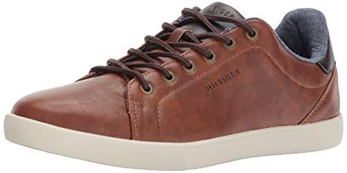 Tommy Hilfiger Men's Toris Sneaker, Cognac, 9.5