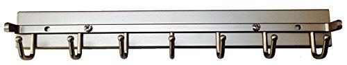 Touch to Open Deluxe Sliding Belt Rack, Satin Nickel 14