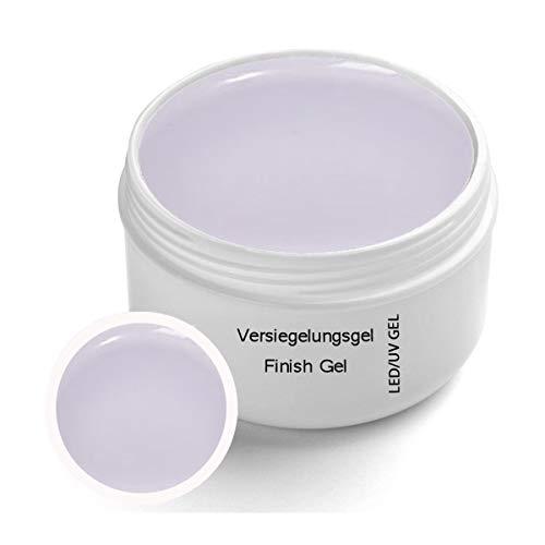 UV Versiegelungsgel Classic Line Klar 30ml - Finish UV Gel mit Gilbschutz - Top Coat - High Gloss Nagelmodellage
