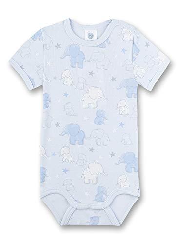 Sanetta Baby-Jungen Halbarmbody Spieler, Blau (blau 50308), 68 (Herstellergröße:068)