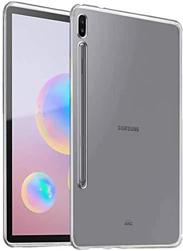 INF Funda Compatible con Samsung Galaxy Tab S6 10.5'/ Diseño Delgado y Seguro en Material Suave e Impermeable para Tableta/Material TPU, Color Transparente