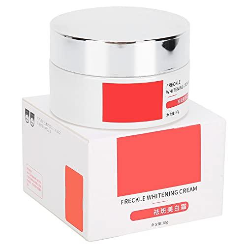 Crema blanqueadora, 30g Crema para pecas, Crema humectante decolorante de pigmento facial Crema para aclarar la piel para aclarar la cara