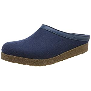 HAFLINGER Men's Open Back Slippers