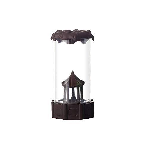 Quemador de incienso de reflujo de vidrio Decoración creativa del hogar Ceremonia del té Zen Estufa de cerámica de sándalo Quemador de incienso