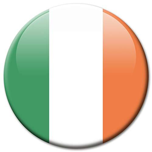 Kühlschrankmagnet Flagge Irland Magnet Länder Flaggen Reise Souvenir für Kühlschrank stark groß 50 mm