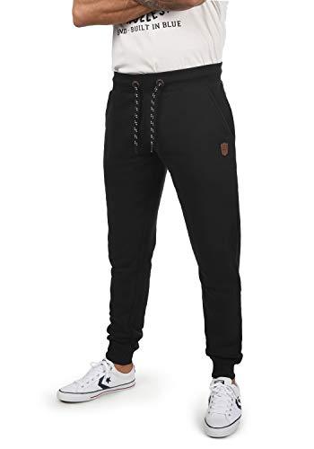 Indicode Hultop Herren Sweatpants Jogginghose Sporthose Regular Fit, Größe:M, Farbe:Black (999)