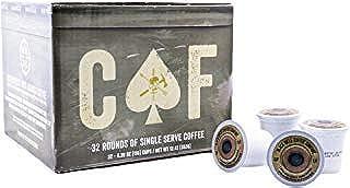 Black Rifle Coffee Company Caffeinated as [REDACTED] Medium Roast Coffee Rounds | 32..