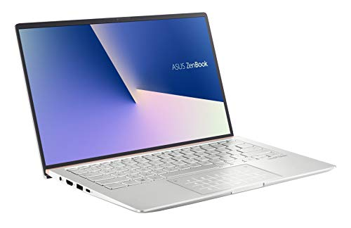 ASUS Computer ZenBook 14 UM433DA (90NB0PD6-M00210) 35,5 cm (14 Zoll, Full HD, matt) Ultrabook (AMD R5-3500U, AMD Radeon Vega 8 Graphics, 8GB RAM, 512GB SSD, Windows 10) Icicle Silver