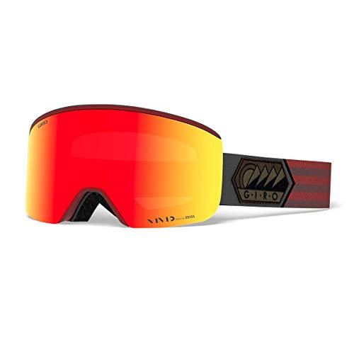 Giro Axis Masque de Ski pour Homme Rouge foncé Taille M