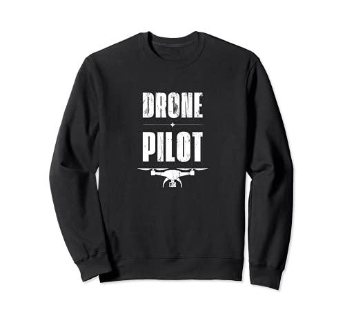 Aviación Drone Pilot, Aviación de Drone Volador Sudadera